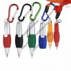 Ballpoint Pen with Lanyard or Carabiner