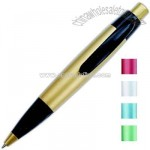 Ballpoint click pen with black grip section