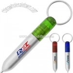 Ballpoint pen with key chain