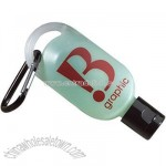 Baltic Anti-bacterial Hand Gel Carabiner Bottle - 0.5oz