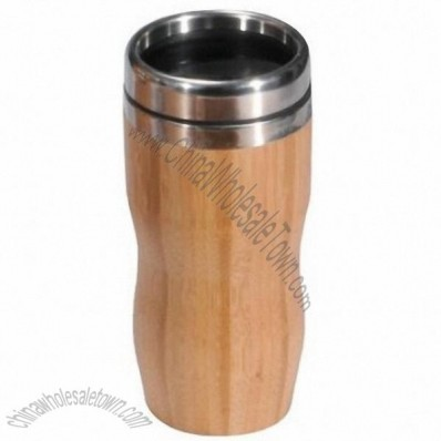 Bamboo 16 Oz Travel Mug
