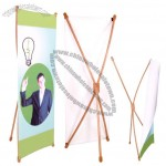 Bamboo Butterfly X-shape Banner Stand