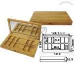 Bamboo Eyeshadow Case 16.5x148x87.3mm