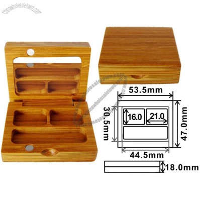 Bamboo Eyeshadow Case 53.5x47x18mm