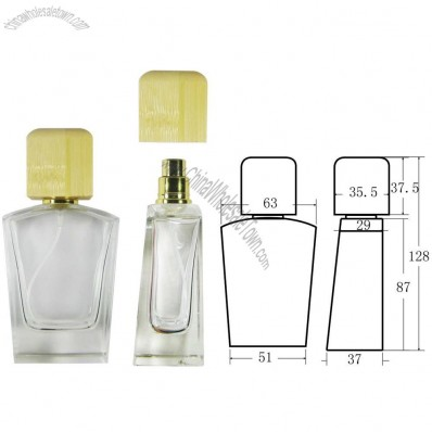 Bamboo Lid Perfume Bottle