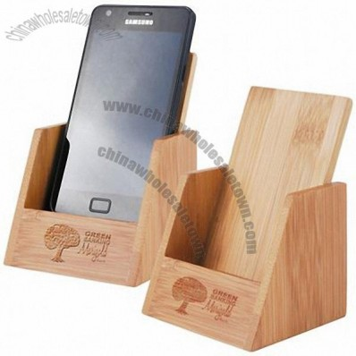 Bamboo Mobile Phone Holders