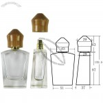 Bamboo Perfume Bottle