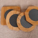 Bamboo Place Mat with PVC Decoration