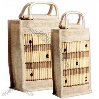 Bamboo Safari Picnic Matching Handle Bags