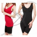 Bamboo Seamless Chemises/Long Underwear Camisole