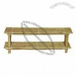 Bamboo Shoe Rack Set of 2