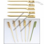 Bamboo Steak Markers