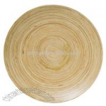 Bamboo Wood Serving Platter - White