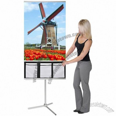 Banner Stand Literature Pocket for Dash 32 - Holds 8x10 Sheets