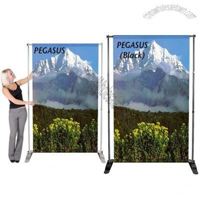 Banner Stand Pegasus Variable Height & Width Telescopic Banner Display