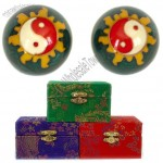 Baoding Balls Chinese Health Exercise Stress Relief Balls Yin Yang