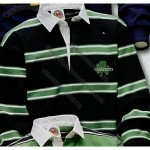 Barbarian Rugby Wear Ireland Rugby Shirt /Black/Kelly/White