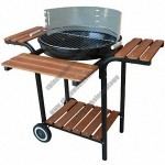 Barbecue Grills with Shelves