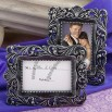Baroque-style place card holder/picture frame favors