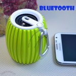 Barrel Bluetooth Speaker with Carabiner