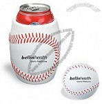 Baseball Shaped Can Holder Stress Ball
