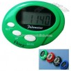 Basic cuff style pedometer with easy to read LCD