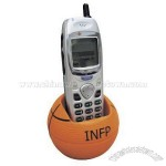 Basketball Cell Phone Holder Stress Ball