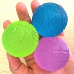 Basketball Shape Round Grip Power Ball - Hand Exercise Balls