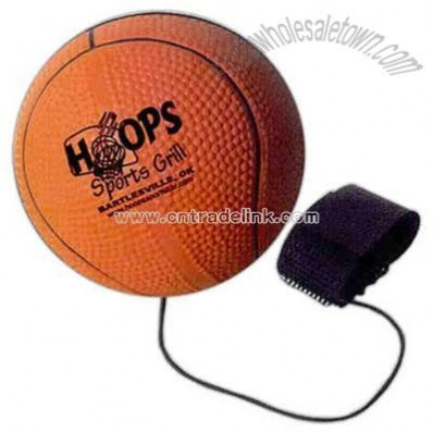 Basketball Shaped Stress Ball yo-yo