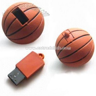 Basketball Shaped USB Flash Drives