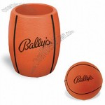 Basketball Stress Ball In Can Holder