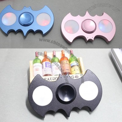Bat Hand Spinner, LED Lights Fidget Spinner