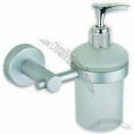 Bathroom Accessory Soap Dispenser with Matte Surface Finish