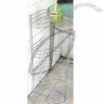 Bathroom Rack With Chrome Plating