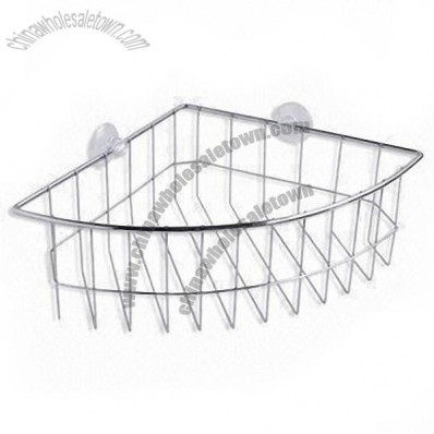 Bathroom Rack with Chrome Plating and Dazzle Appearance