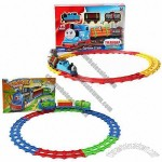 Battery Operated Railway/Funny Thomas Train Set for Children