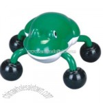 Battery operated frog shaped massager