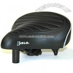 Beach Cruiser Bicycle Seat Black/White