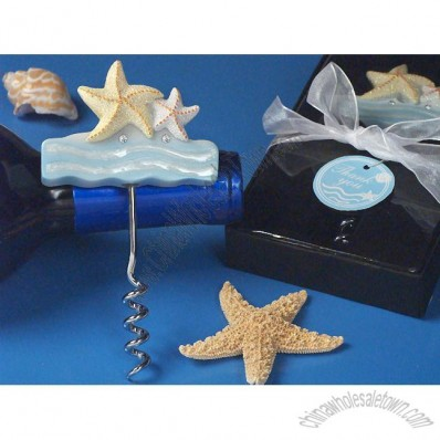 Beach Theme Starfish Wine Opener