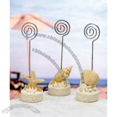 Beach Themed Place Card Holder
