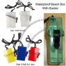 Beach Waterproof Dry Box Case with Lanyard