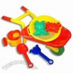 Beach Wheelbarrow Toys Set with Rake