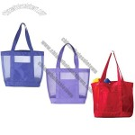 Beach and Grocery Mesh Tote Bag