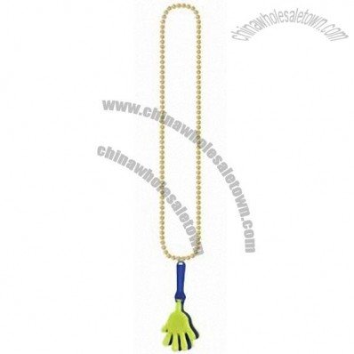 Beads with Hand Clapper 36 inches Party Decorations