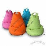 Bean Bag Chairs, Made of 100% Cotton Canvas Filling