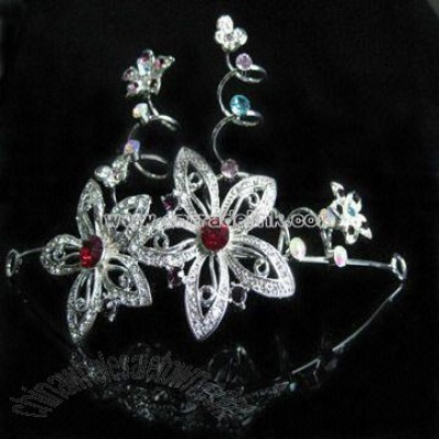 Beautiful Rhinestone Tiara