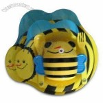 Bee-shaped Kid's Melamine Dinner Set