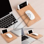 Beech Mouse Pad Mobile Display Stand