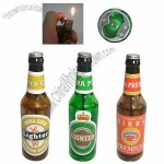 Beer Bottle Shaped Lighter Bottle Opener