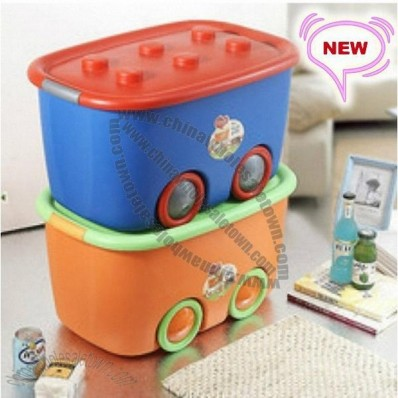 Beetle Toy Organizers Box with Wheel